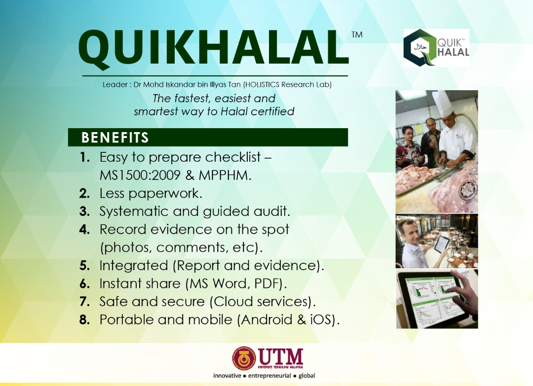 QuikHalal - A solution to Halal certification process for industry